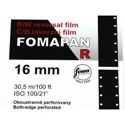Foma Fomapan R 100 Standard 30,5m film do kamery 16mm