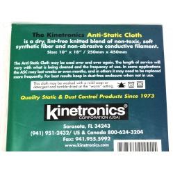 Kinetronics Ściereczka antystatyczna pomarańczowa ASC 25x45cm