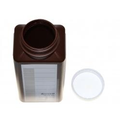 Kaiser butelka brązowa 1 litr z podziałką (4193) do przechowywania chemii
