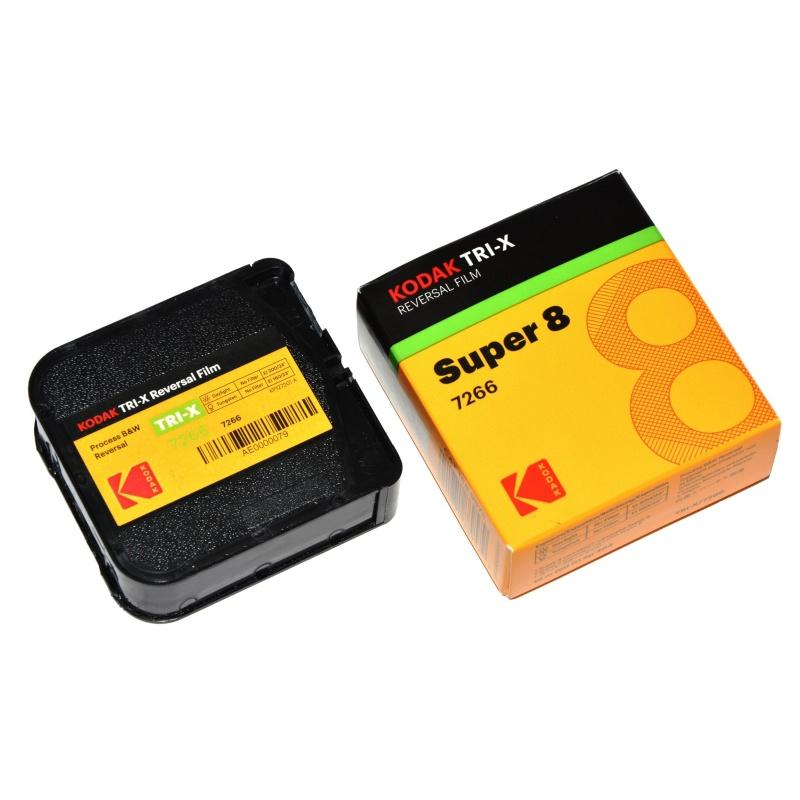 Kodak Professional Tri-X 200 S8 7266 film klisza do kamery Super 8