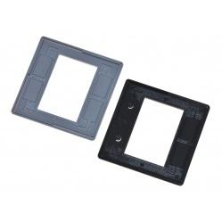 GePe Ramki Standard 5x5cm bezszybkowe 3mm 100szt (7005) na slajdy