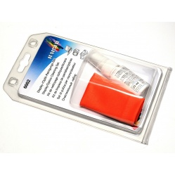 Kaiser Zestaw do czyszczenia optyki, LCD: płyn i ściereczka (6662)