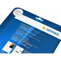 Herma Koszulki 9x13cm 10szt  (4 odbitki w pionie, czarne)