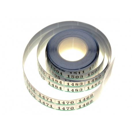Tetenal Numerki do oznaczania filmów i archiwizacji 2x100 szt