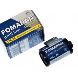 Foma Fomapan 100/24 Classic film, klisza do zdjęć B&W