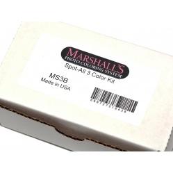Marshall Tusze do retuszu błon i papierów zestaw 3x12 ml.