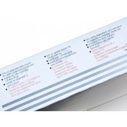 GePe Ramki 5x5 CS do slajdów, dia 200 szt. 1,85 mm (7055)