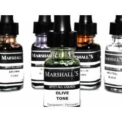 Marshall Tusze do retuszu błon i papierów zestaw 5x12 ml.