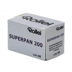 Rollei Superpan 200/36 film i slajd o dużym kontraście