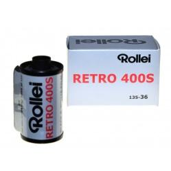 Rollei Retro 400S 135/36 film, klisza czarno biała