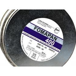 Foma Fomapan 400 30,5m. klisza z puszki, z metra 35mm.