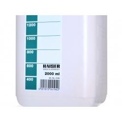 Kaiser Butelka naczynie na chemię foto - mleczne 2 l. (4194)
