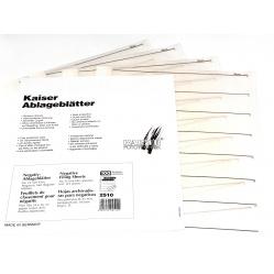 Kaiser Koszulki pergamin folia na film klisze 35mm 10 sztuk