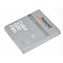 Polaroid Impossible Color Film 600 Silver Frame - wkład 8 zdjęć