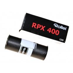 Rollei RPX 400/120 film średnioformatowy B&W