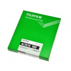 Fuji Neopan Acros 100 4x5 cala 20szt. film klisza błona cięta