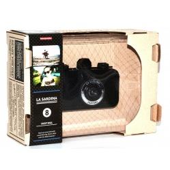 Lomography aparat La Sardina 8-ball na film małoobrazkowy