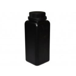 Butelka czarna z nakrętką 1500 ml. na chemię fotograficzną