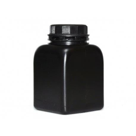 Butelka czarna z zakrętką 300 ml. do chemii fotograficznej