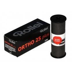 Rollei Ortho Plus 25/120 film klisza ortochromatyczna