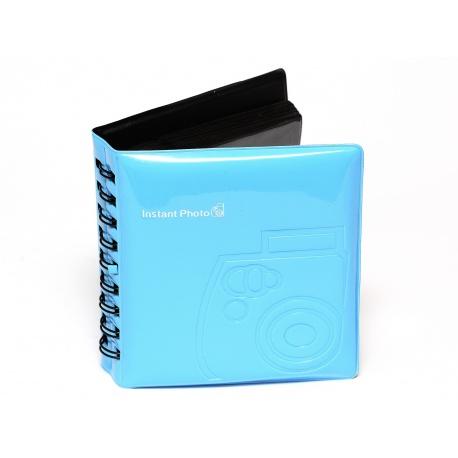 Album do zdjęć z aparatu Fuji Instax MINI - kolor niebieski