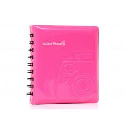 Album do zdjęć z aparatu Fuji Instax MINI - kolor różowy