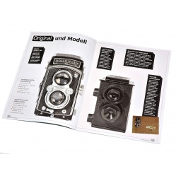 Aparat Retro Camera do samodzielnego złożenia na film klisze 35mm