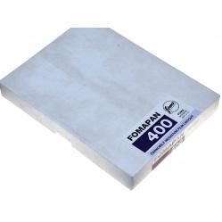 "Foma Fomapan 400 format 4x5"" 10,2x12,7 cm. 25szt. film klisza B&W"