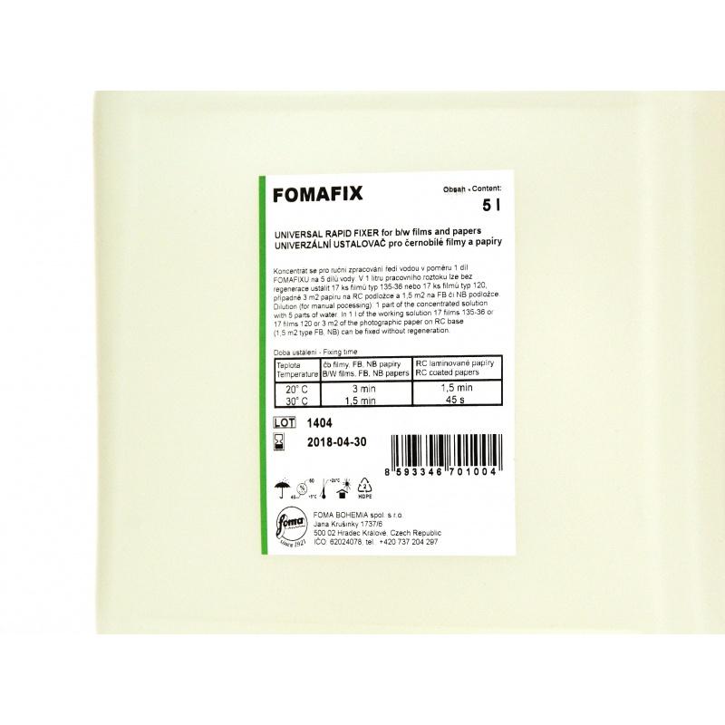 Foma Fomafix 5l na 30l utrwalacz uniwersalny do zdjęć filmów B&W