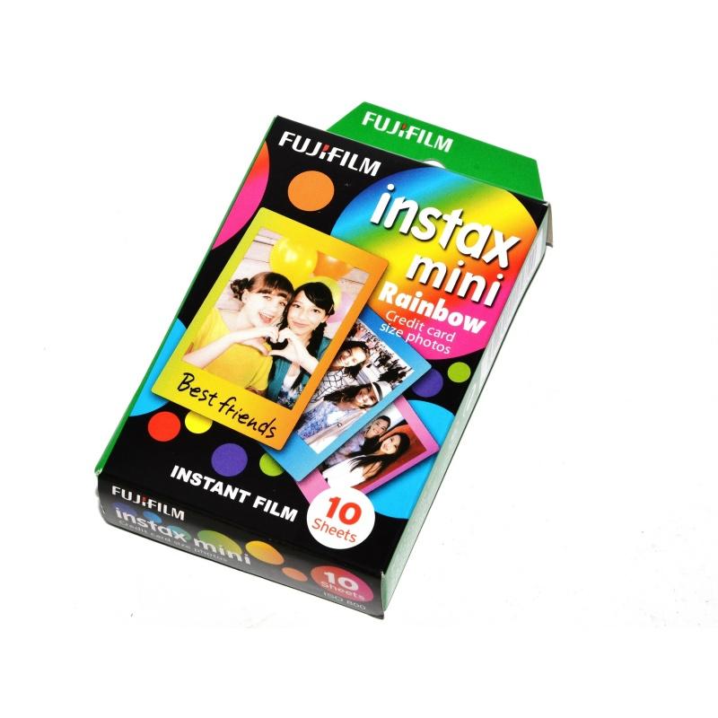 Fuji Film wkład Rainbow aparat Instax Mini Lomo 10x zdjęcia instant