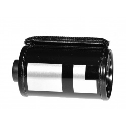 Kasetka do filmu 35 mm kod DX 200ASA do filmów ze szpuli z metra