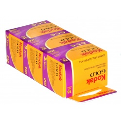 Kodak Gold GC 200/36 - 3 filmy do zdjęć kolorowych na wakacje