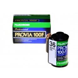 Fuji Fujichrome Provia 100F 100/36 slajd kolorowy 21 DIN