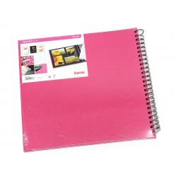 Hama Album Fine Art 36x32cm - 50 kartonowych czarnych stron z pergaminem - wrzos