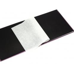 Hama Album Fine Art 24x17cm - 50 kartonowych czarnych stron z pergaminem - niebieski