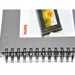Hama Album Fine Art 24x17cm - 50 kartonowych czarnych stron z pergaminem - zielony