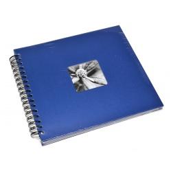 Hama Album Fine Art 28x24cm - 50 kartonowych czarnych stron z pergaminem - szafir