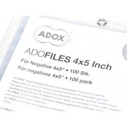 "Adox Adofiles Koszulki PP do segregatora 4x5"" na 4 slajdy - 1 sztuka"