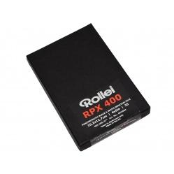 Rollei RPX 400 4x5 cala 25szt. błona cięta 10,2x12,7cm.