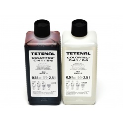 Tetenal Colortec C41 zestaw na 2,5 litra do obróbki filmów kolorowych 102230