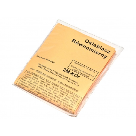 2M-KOr Osłabiacz Równomierny na 400 ml. do osłabiania filmów i zdjęć