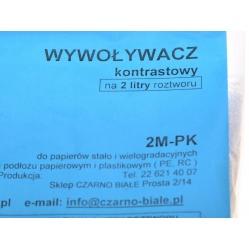 2M-PK Wywoływacz kontrastowy do zdjęć, odbitek na 2 litry