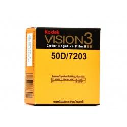 Kodak Vision3 Color 50D film kolorowy do kamery Super8 S8 7203