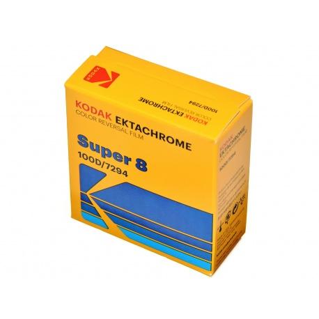 Kodak Ektachrome 100D film kolor do kamery Super 8 S8 7294