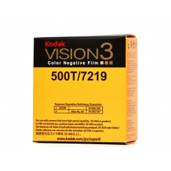 Kodak Vision3 Color 500T film kolorowy do kamery Super8 8S 7219