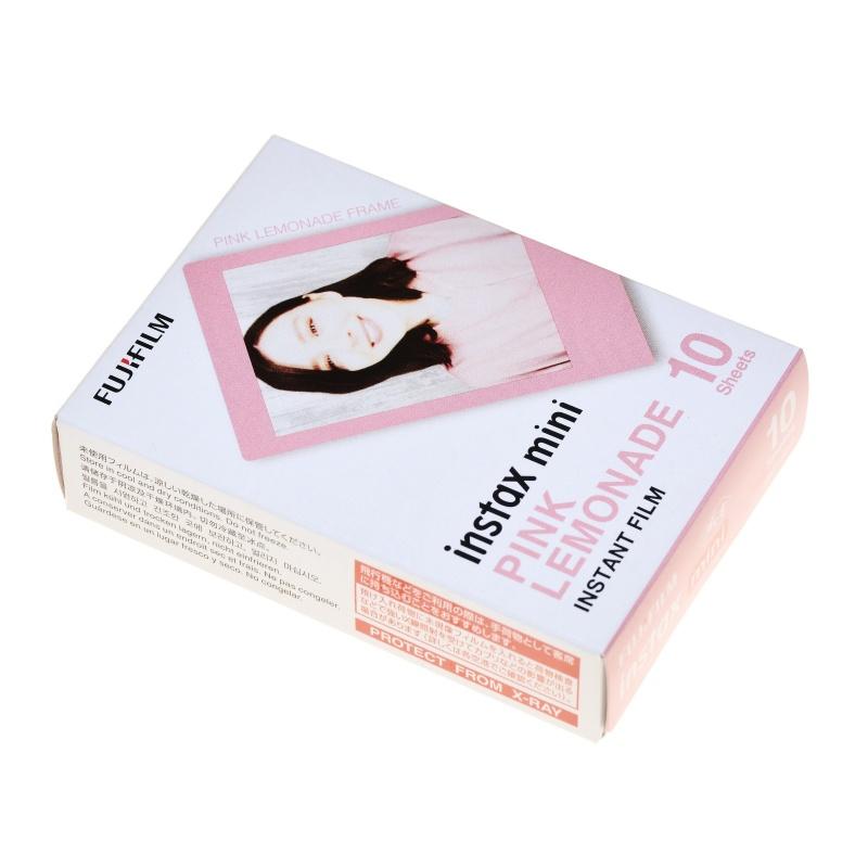 Fuji Film wkład Pink Lemonade aparat Instax Mini Lomo 10x zdjęcia instant