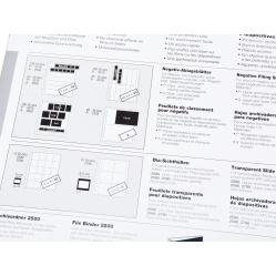 Kaiser Koszulki pergamin na 10x4 klatki filmu 35mm 10 sztuk (2513)