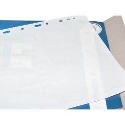 Herma Koszulki na zdjęcia 9x13cm 10szt (4 odbitki w pionie, białe) 7583