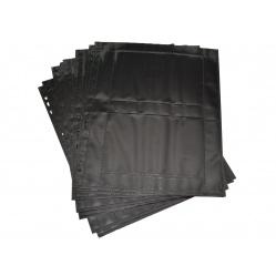 Herma Koszulki na zdjęcia 10x15cm 10szt (2 odbitki w poziomie, czarne) 7786