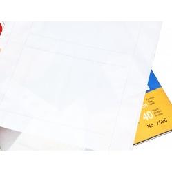 Herma Koszulki na zdjęcia 10x15cm 10szt (2 odbitki w poziomie, białe) 7586